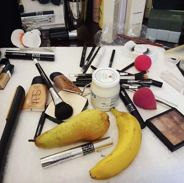 Shoot voor Garcia Jeans - om 5 uur in de ochtend aan de make-up